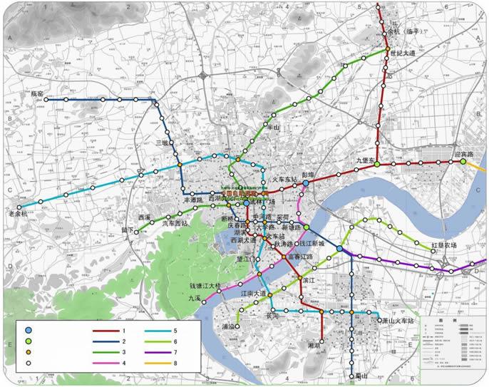 Hangzhou Subway Map.Metro Subway Apartment In Hangzhou